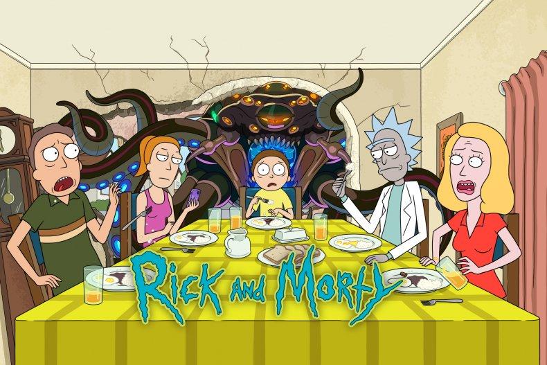 Ricka nd Morty still from season 5