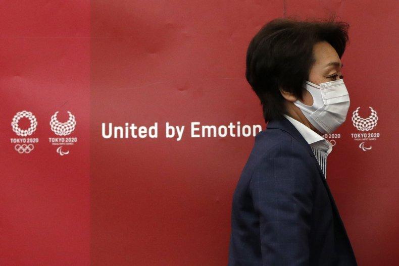Olympics Organizing Committee President Seiko Hashimoto