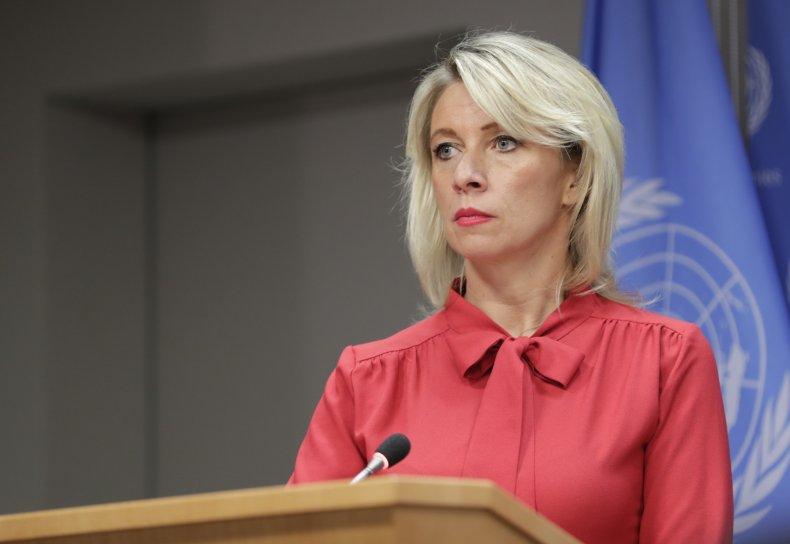 Russian foreign affairs spokeswoman Maria Zakharova