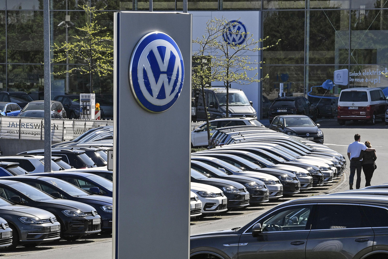 Volkswagen delership germany