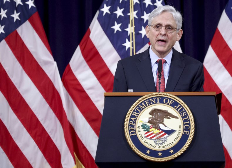 Attorney General Merrick Garland DOJ