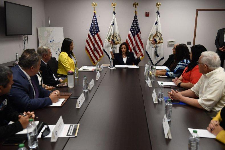 Harris Meets with NGO Leaders