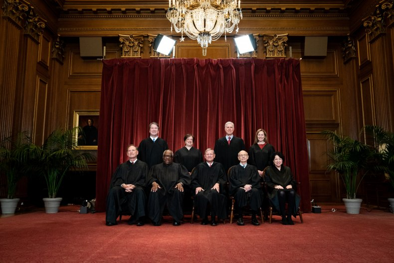 Supreme Court group photo