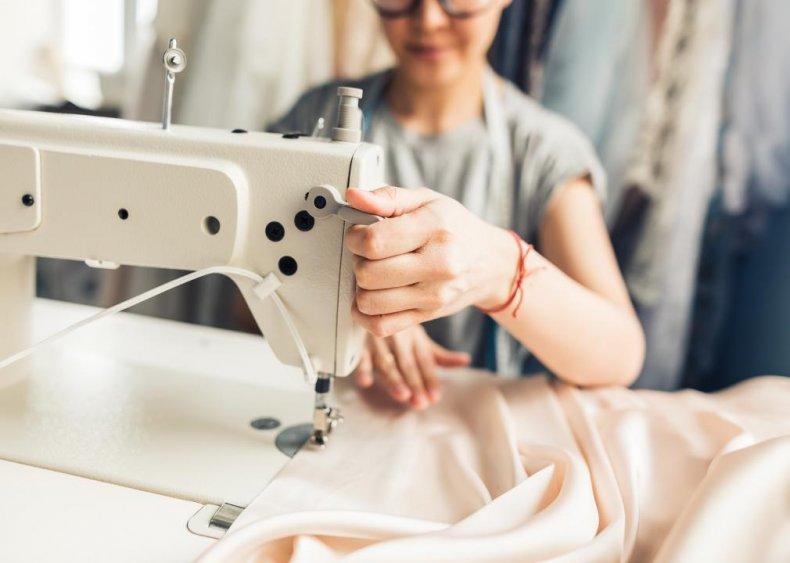 #27. Sewing machine operators