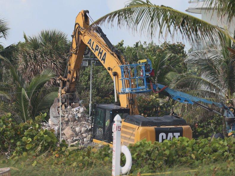 Condo collapse Florida