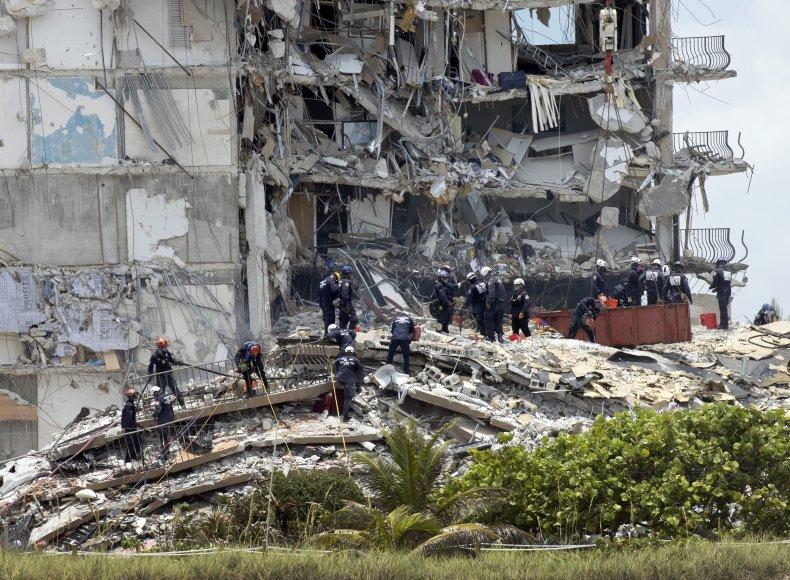 Champlain Towers South condo collapse Miami-Dade Florida