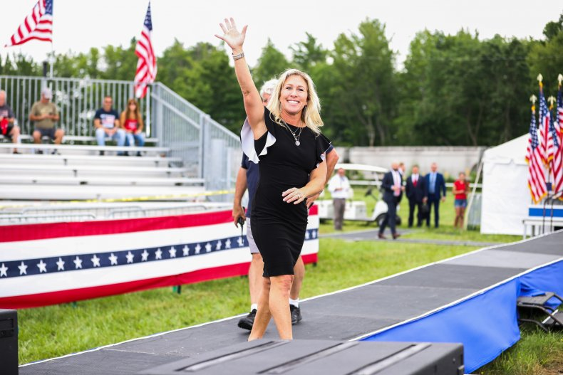 Majorie Taylor Greene at Save America rally