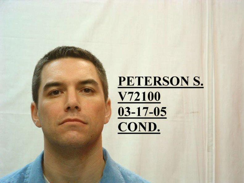 Scott Peterson's mugshot