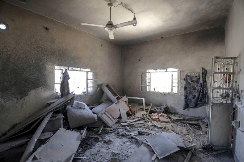 Syrian Bomb Damage