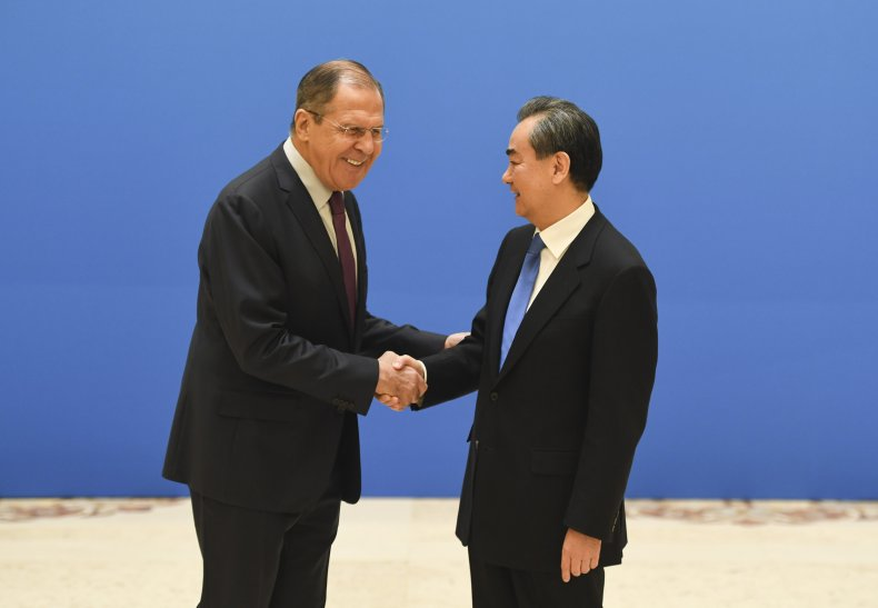Lavrov and Wang meet in Beijing