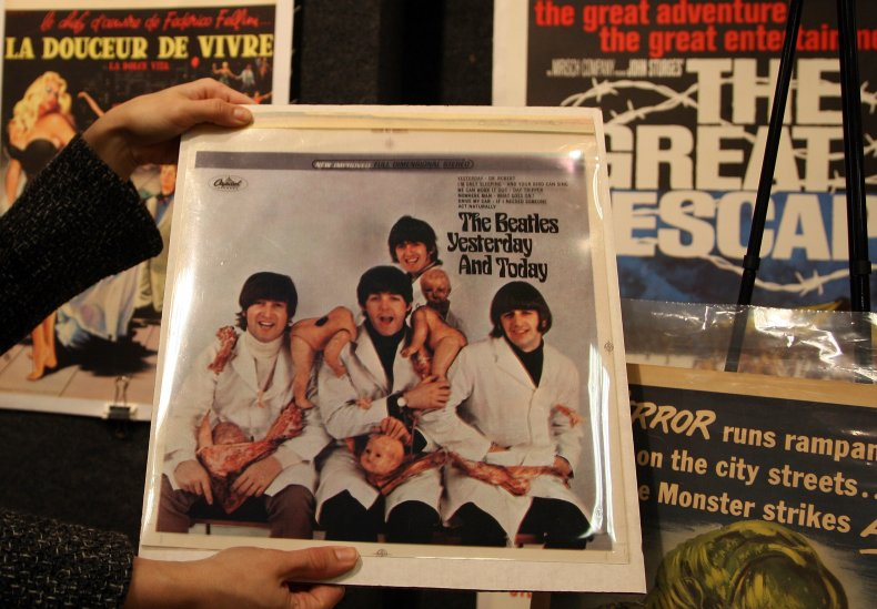 """The Beatles 'Butcher"""" Record Cover"""