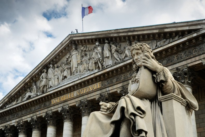 Jean-Baptiste Colbert Statue French National Assembly
