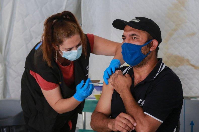 Greek Vaccination Site