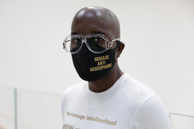 French Black rights activist Franco Lollia