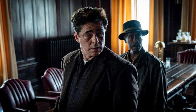 Benicio del Toro and Don Cheadle