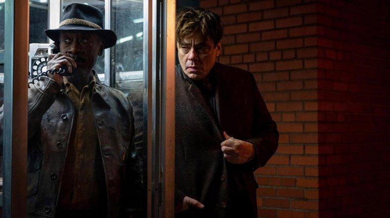 Don Cheadle and Benicio del Toro