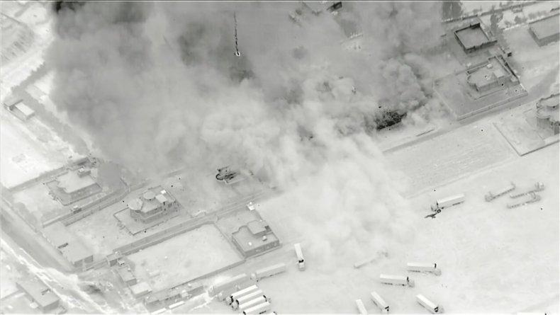 US, strike, Iran, militia, Sikak, Syria
