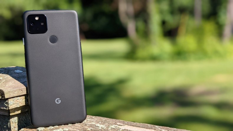 The Pixel 4a with 5G