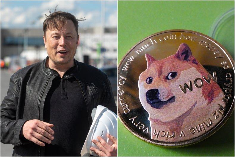 elon musk dogefather dogecoin 50 birthday, getty