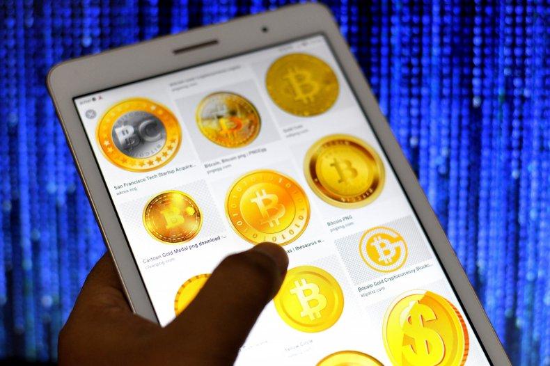 Bitcoin cryptocurrency logos