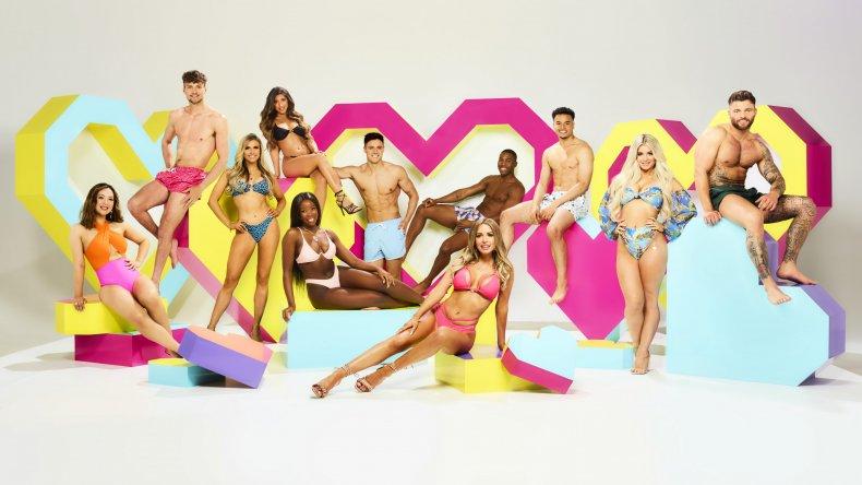 Love Island UK Contestants
