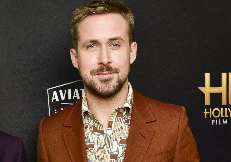 Ryan Gosling at Hollywood Film Awards