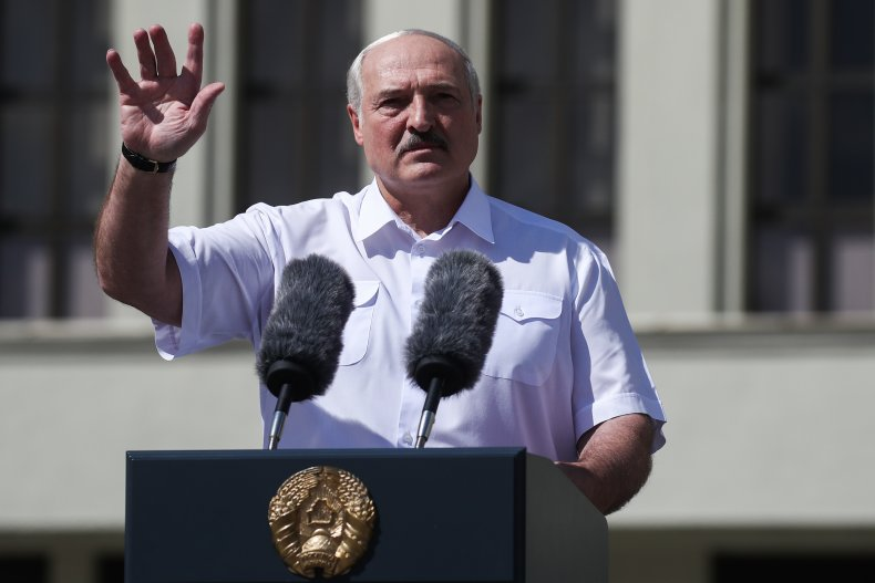 Belarus' President Alexander Lukashenko