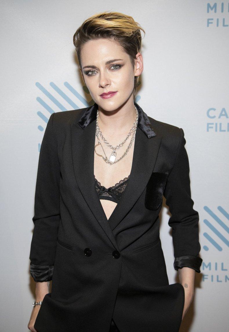 Kristen Stewart at Seberg screening