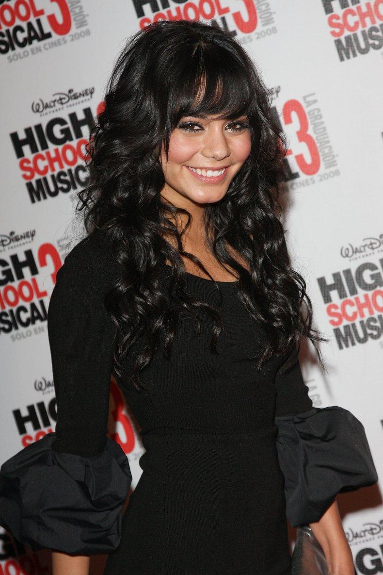 Vanessa Hudgens at High School Musical premiere