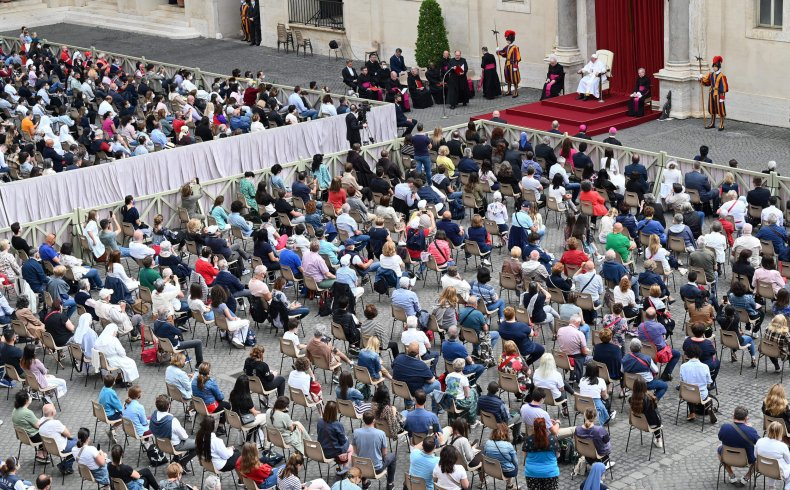 Pope Francis Leads Audience on Criminal Code