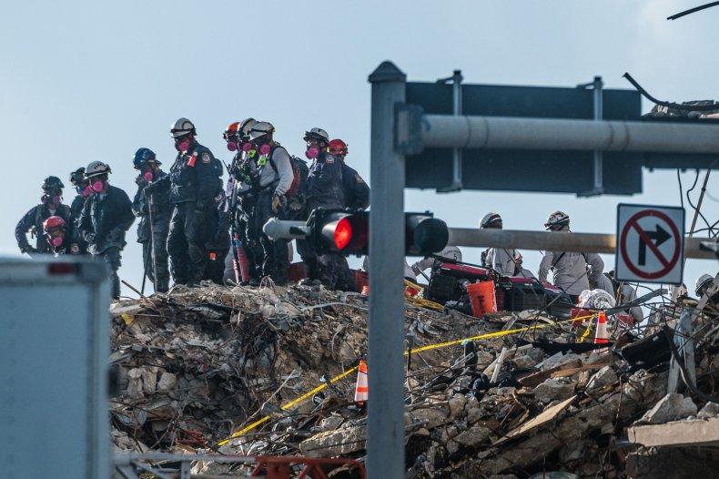 Surfside Building Wreckage