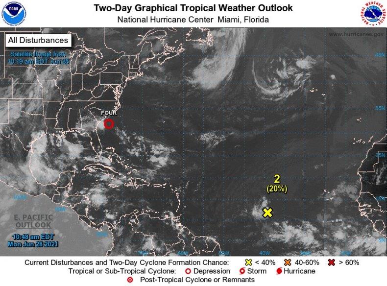 Second Tropical Disturbance