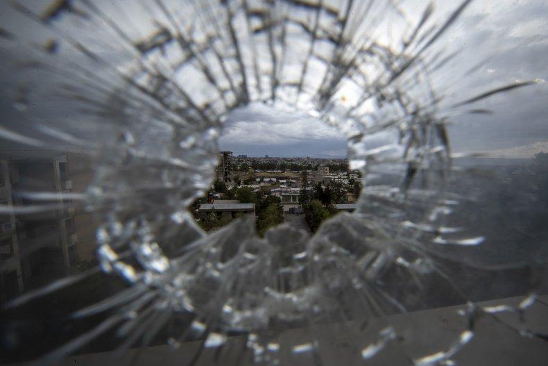 Bullet hole Tigray