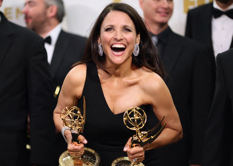 Julia Louis-Dreyfus wins at Emmys