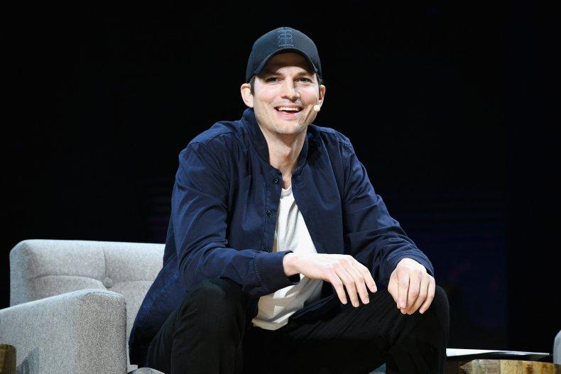 Ashton Kutcher at WeWork event