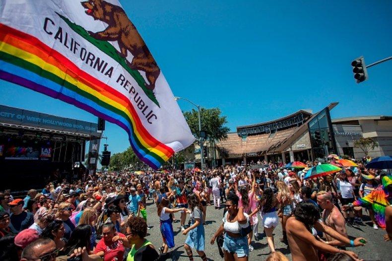 California Travel Ban Anti LGBTQ Laws Transgender