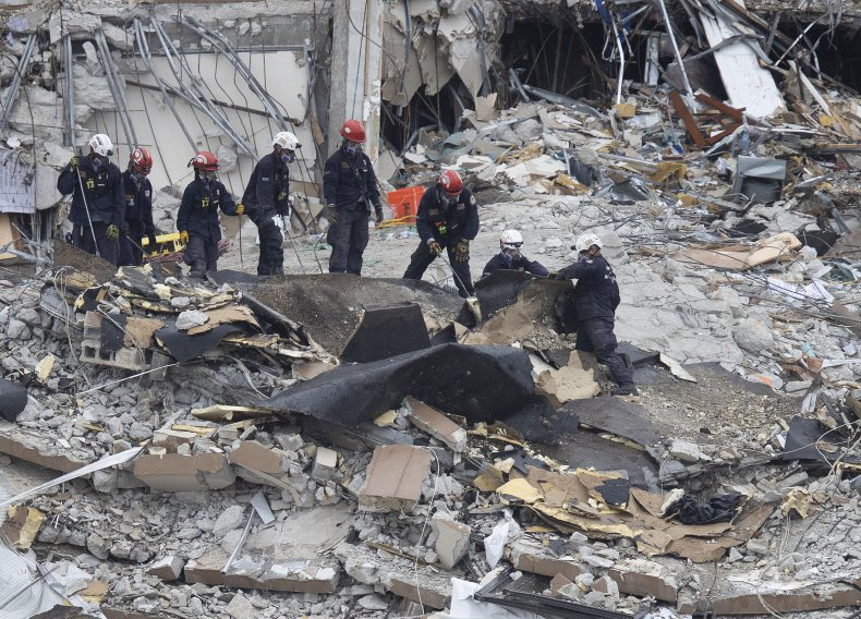 Surfside Building Collapse Death Toll Search Florida
