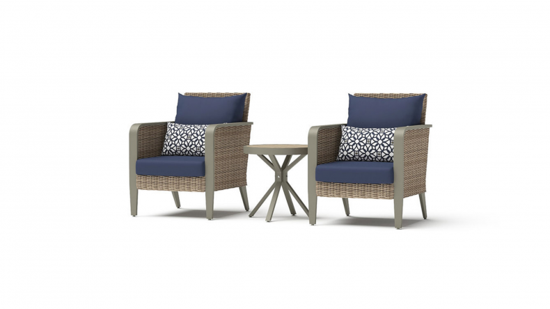 Grantina Club Chairs and Side Table