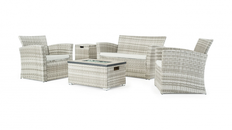Sego Lily Magna 4 Piece Fire Seating
