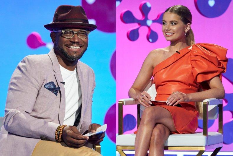 Taye Diggs and Demi Burnett