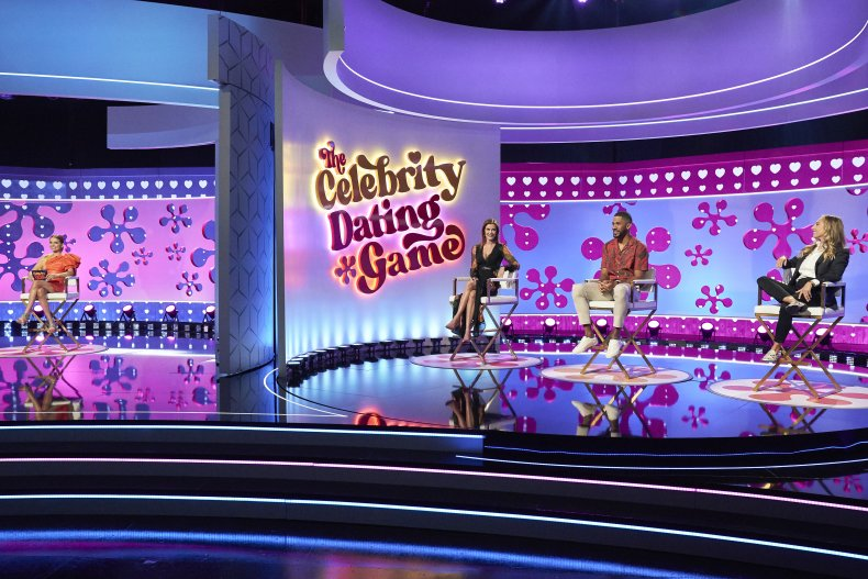 The Celebrity Dating Game contestants