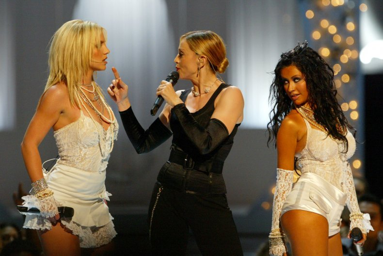 Britney Spears, Madonna and Christina Aguilera