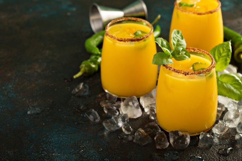 Chili Mango Margarita Recipe