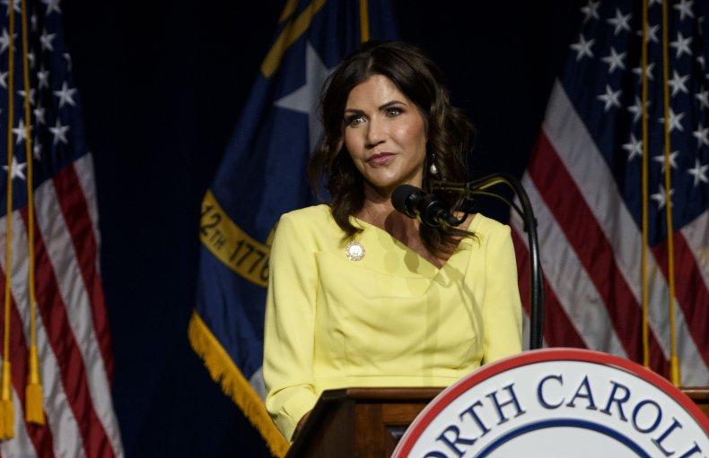 Kristi Noem Speaks to North Carolina Republicans