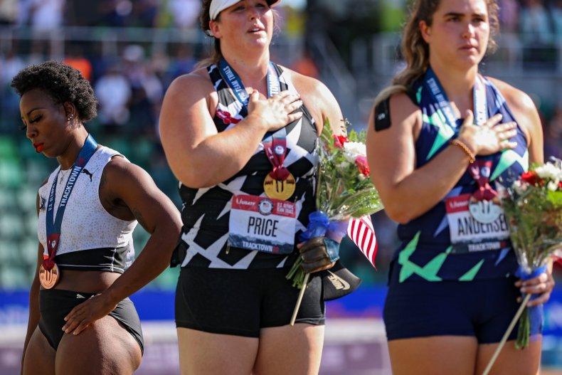 Gwen Berry, hammerthrow athlete