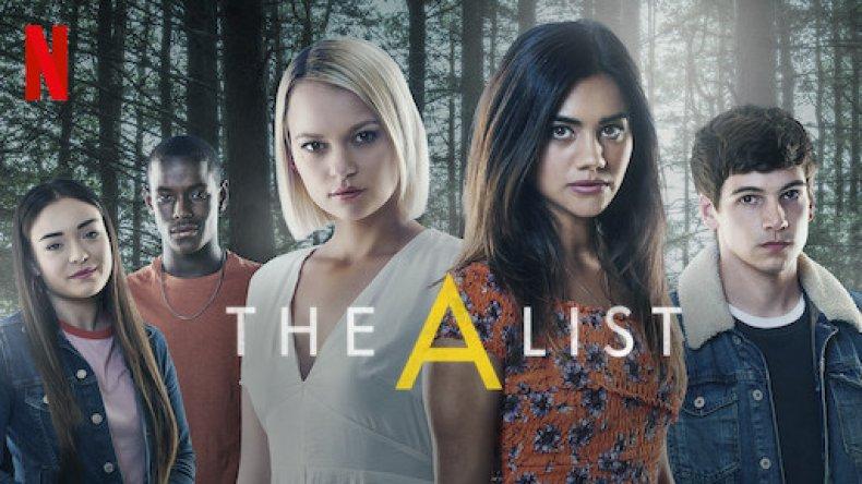 The A List cast on Netflix