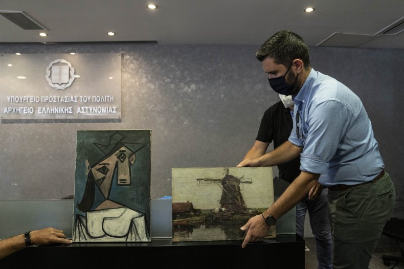 Stolen Picasso Work Recovered