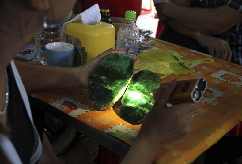 Jade Stone in Myanmar