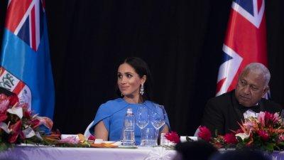 Meghan Markles Mohammed bin Salman Earrings