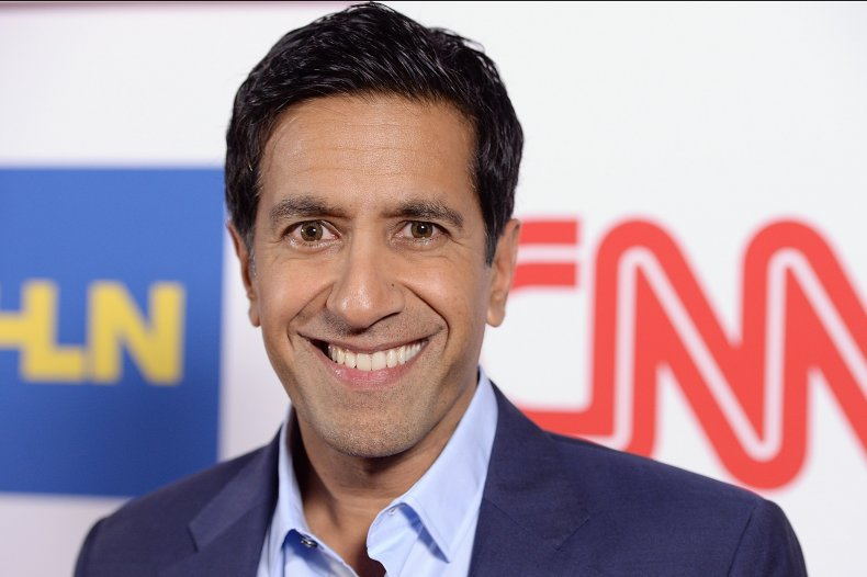 """Jeopardy!"" guest host Dr. Sanjay Gupta"